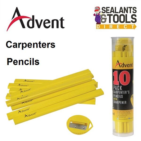 Advent new Range of pro Carpenters pencils