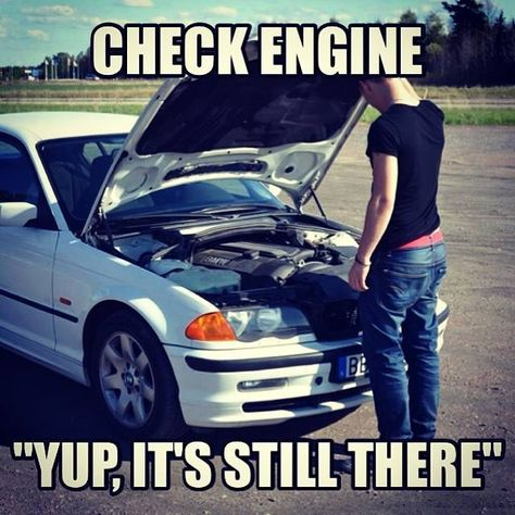 Car Breakdown - Check engine