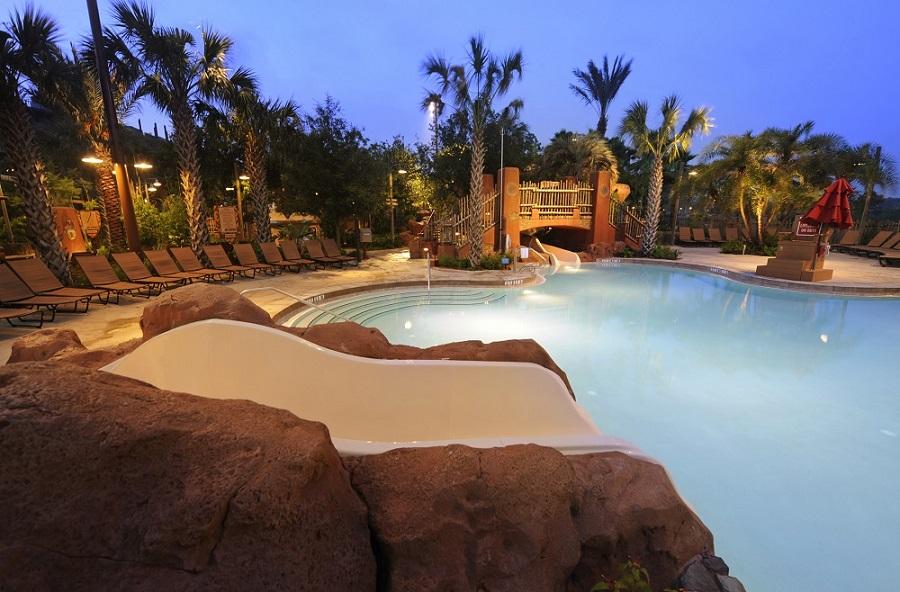 Disney's Animal Kingdom Lodge Hotel Pool