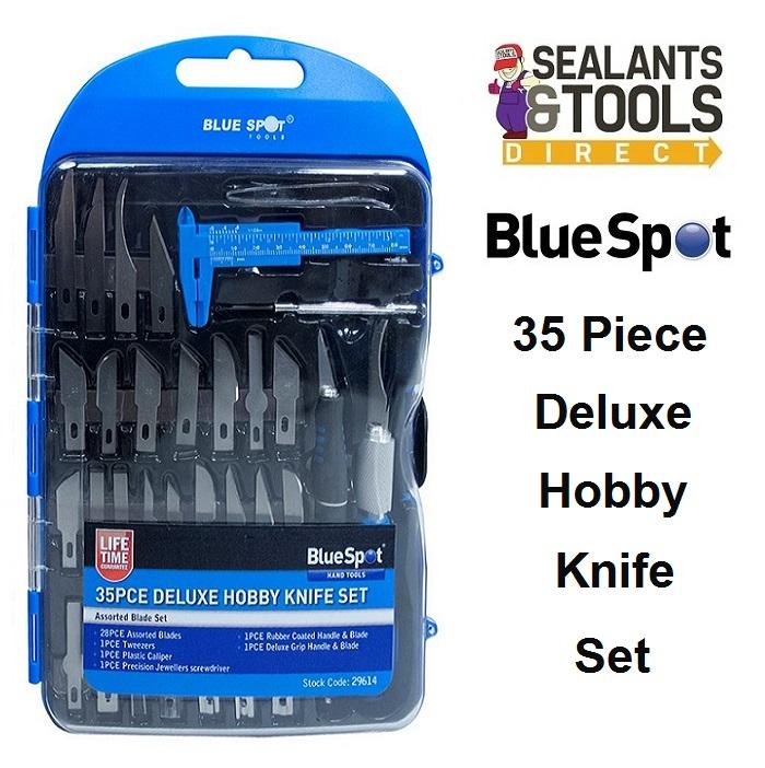 Blue Spot Hobby Craft Knife Set 35pc 29614