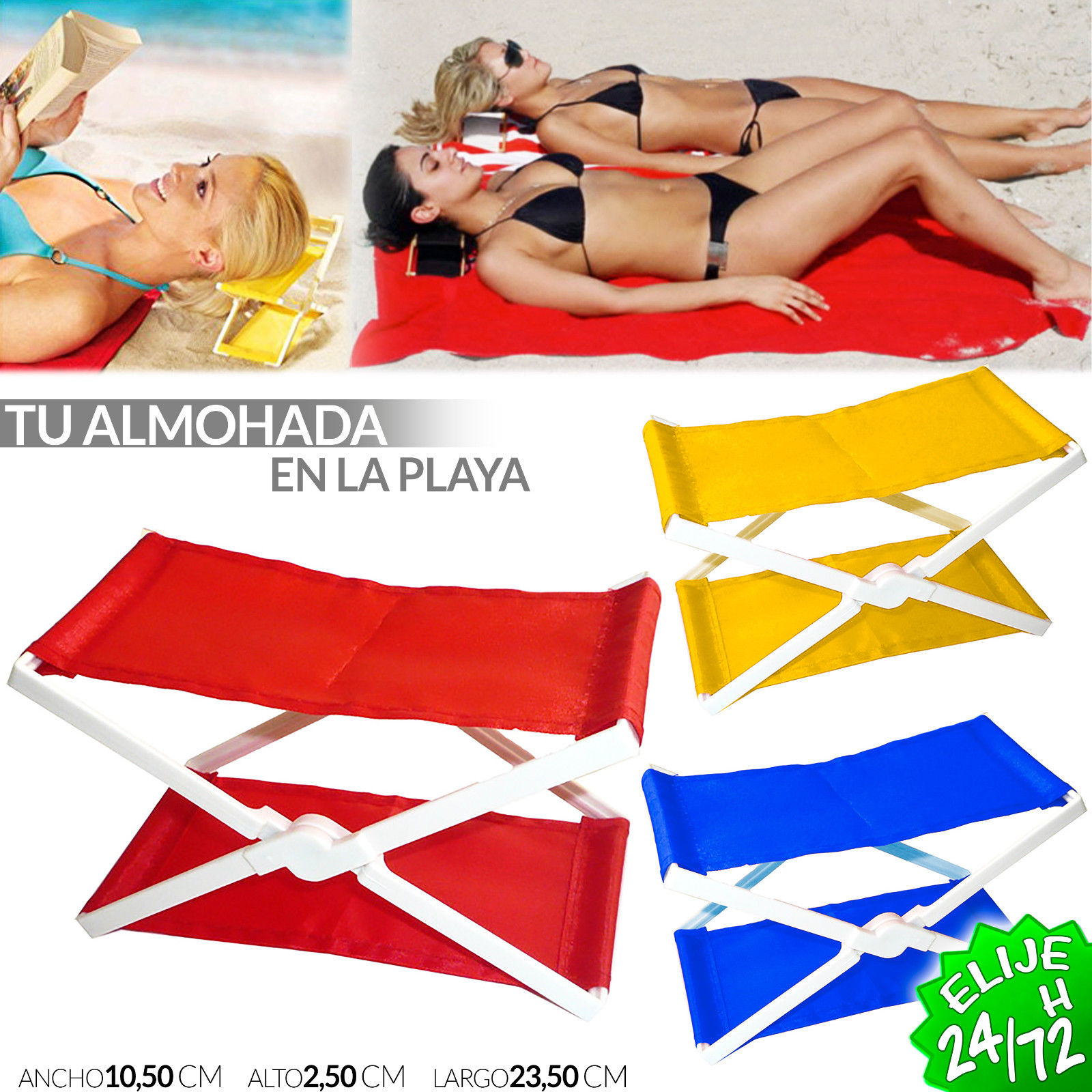Almohada Playa
