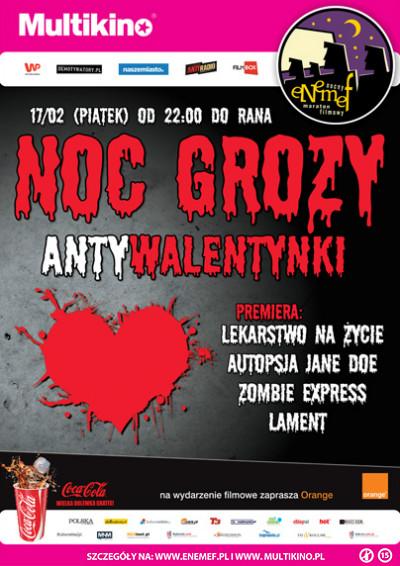 ENEMEF: Noc Grozy - Antywalentynki - 17.02
