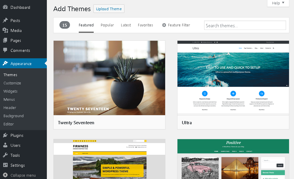 How to Make a Website | Free WordPress Themes