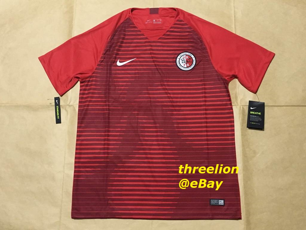c7362b2390 This listing is for the official Home Red Short-Sleeved Soccer Jersey   Football  Shirt   Calcio Trikot   Maglia Gara   Maillot of Hong Kong national ...