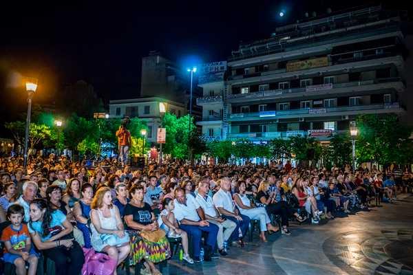 Ελληνική βραδιά στην πλατεία Δημοκρατίας Αγρινίου