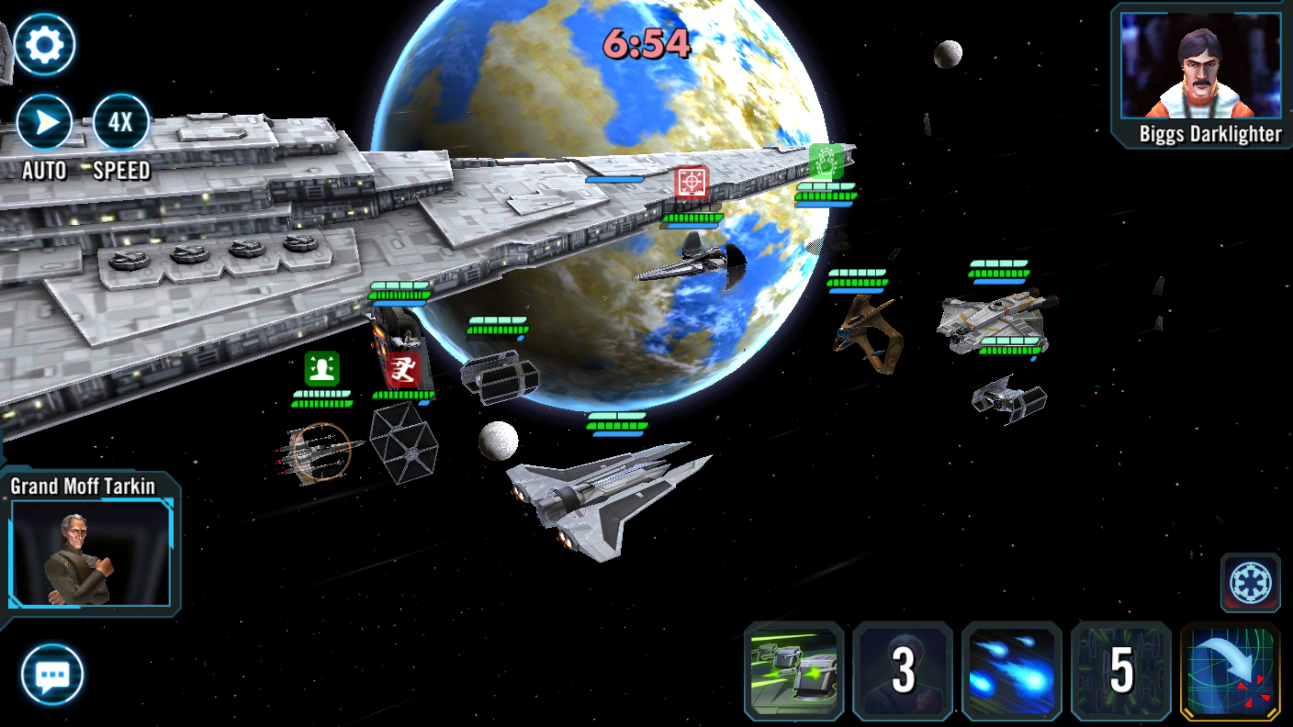 6 on 4 Ship Battle in TW — Star Wars Galaxy of Heroes Forums