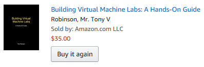 Book ordered on Amazon