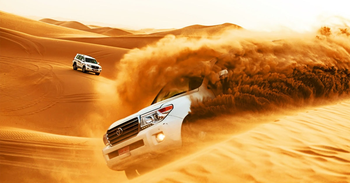 Morning, Evening, Overnight Desert Safari Sharing and Private Tickets in Dubai
