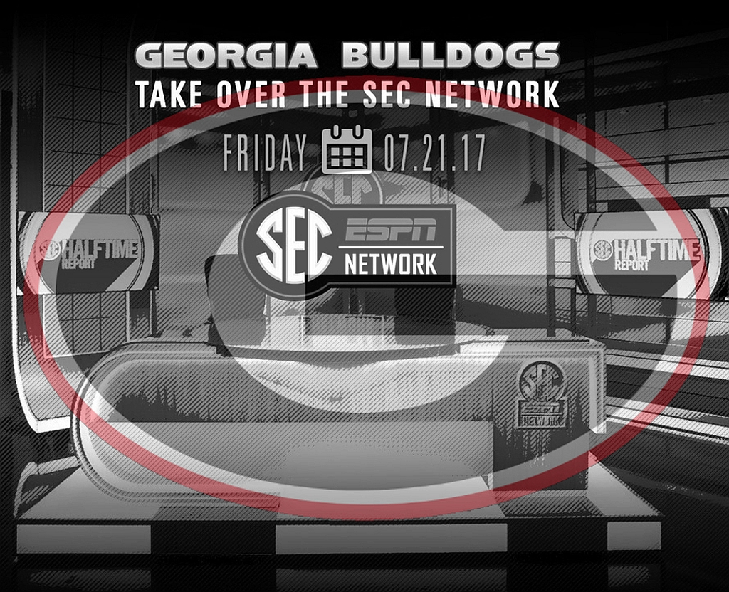 The University of Georgia 'takes over' the SEC Network on Friday, July 21st, 2017