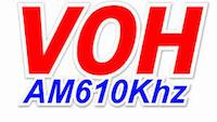 nghe đài VOH AM 610KHz