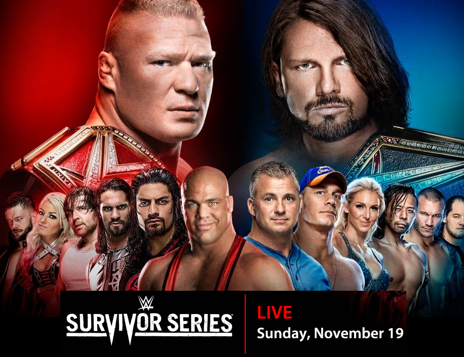 Survivor Series 2017 Poster Official >> Updated Official Survivor Series 2017 Poster Wrestling Forum Wwe