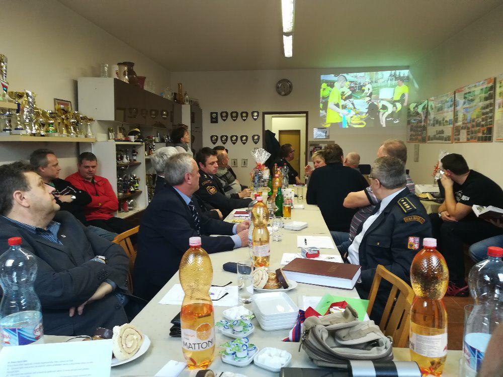 Výroční schůze SDH Lubenec 2018 23