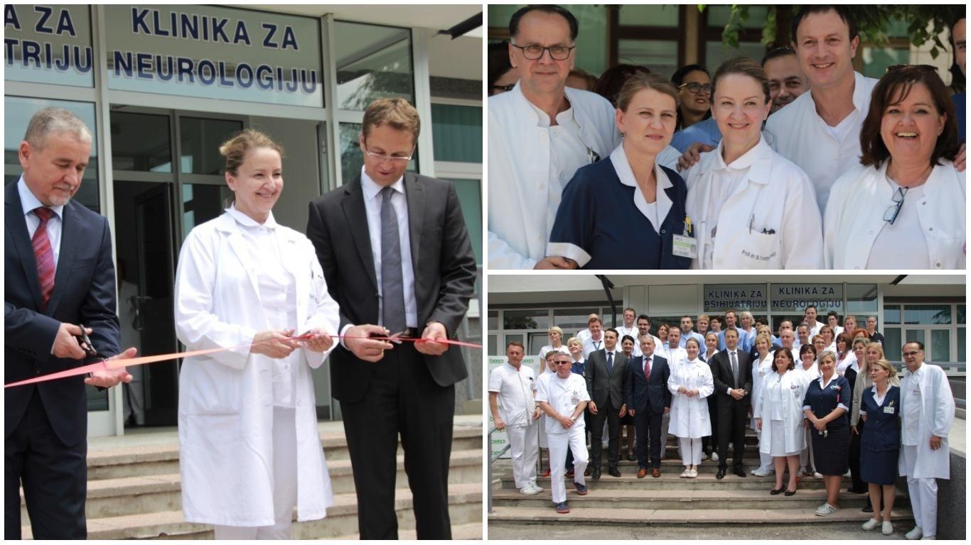KCUS U NOVOM RUHU: Svečano otvorene obnovljene Klinika za psihijatriju i Klinika za neurologiju