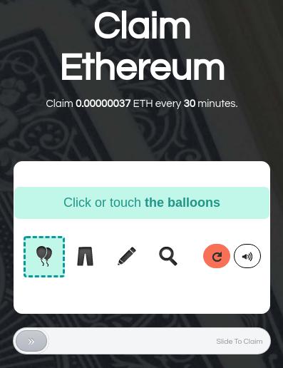 Claim Ethereum