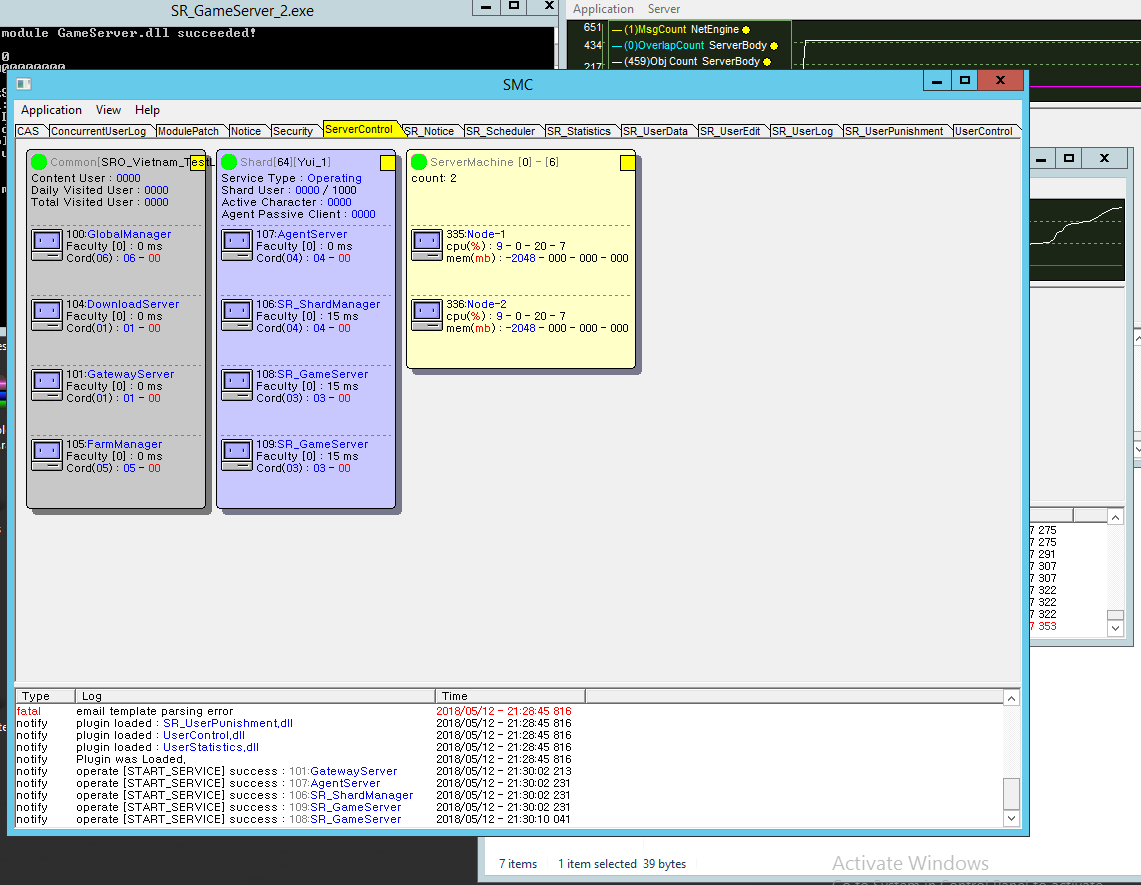 VIDEO l VMWare l Erstellen/Create a vSro Server l Create 2 Server Shard
