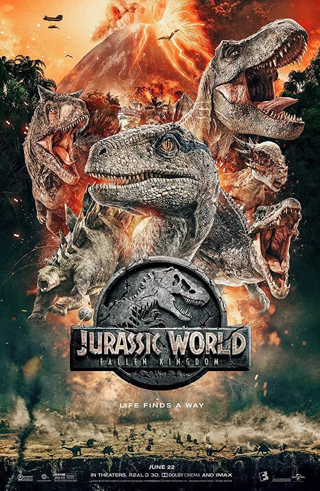 Jurassic World: Fallen Kingdom (2018) 720p WEB-DL 950MB