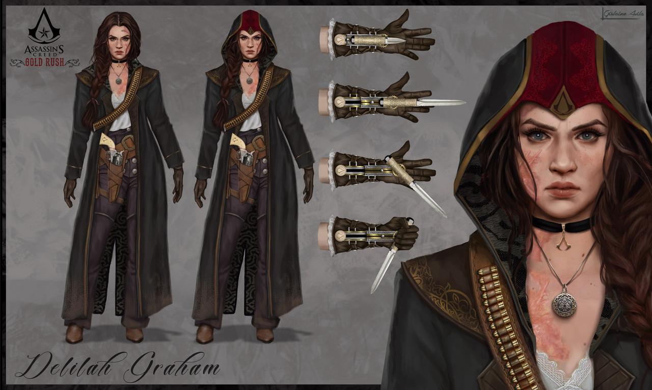 Новый Assassin's Creed на Диком Западе показали в стиле Red Dead Redemption 2