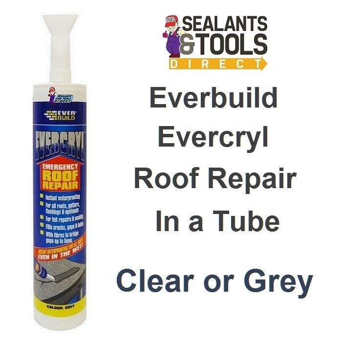 Evercryl Emergency Roof Repair Cartridge clear or grey