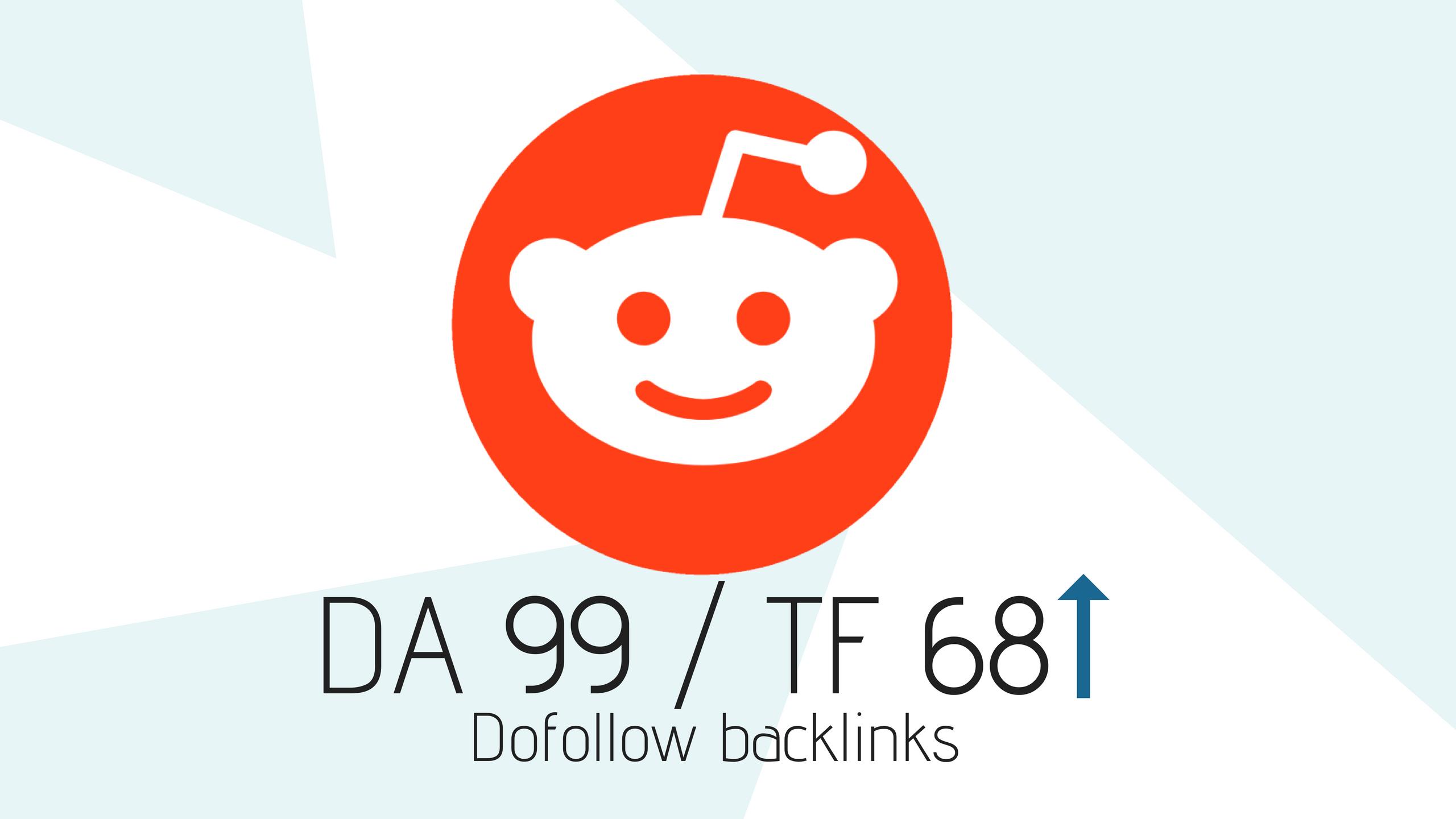 DA99 Permanent Dofollow Backlinks From Reddit | Legiit