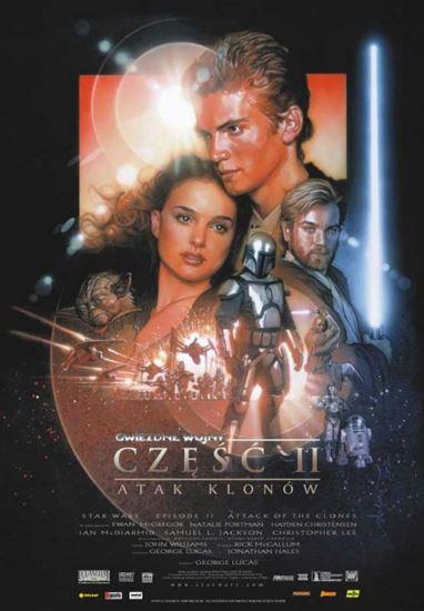 Gwiezdne wojny: Część II - Atak klonów / Star Wars: Episode II - Attack of the Clones (2002) PL.BRRip.XviD-GR4PE | Lektor PL