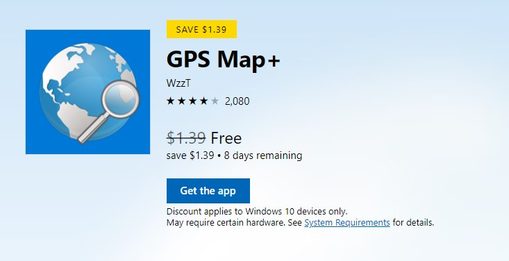 GPS Map+ Giveaway | Games | Software Giveaways
