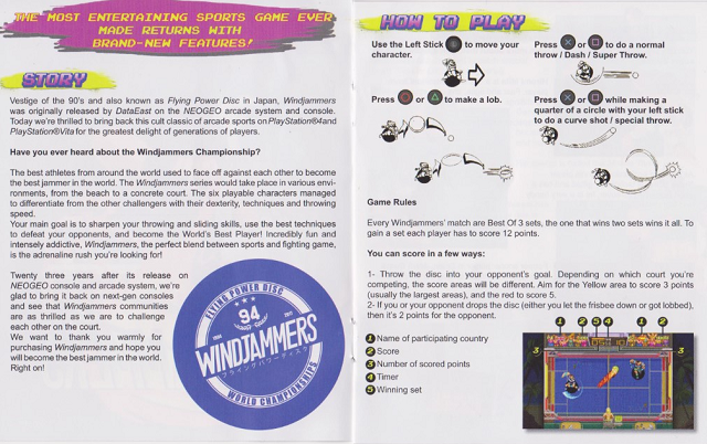 [Scan] Notices, flyers, artsets... NGCD - AES - MVS Flying Power Disc / Windjammers[Scan] Notices, flyers, artsets... NGCD - AES - MVS - PS4 - PSVita - Switch Flying Power Disc / Windjammers Windjammers3-640