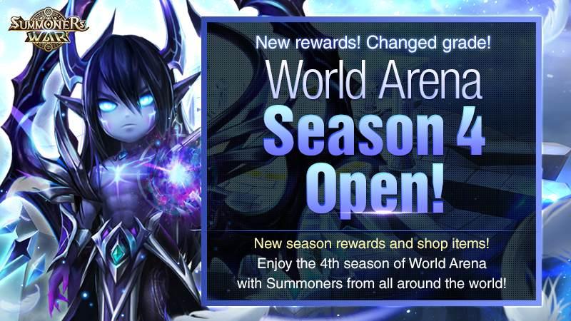Đấu trường thế giới Summoners War mùa giải thứ 4 đã chính thức khởi tranh!