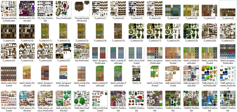 1350 Tilset varié (VX ACE et pour MV) Image17