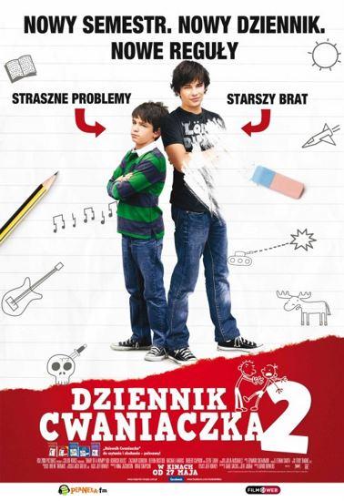 Dziennik cwaniaczka 2 / Diary of a Wimpy Kid: Rodrick Rules (2011) PL.BRRip.XviD-GR4PE | Lektor PL