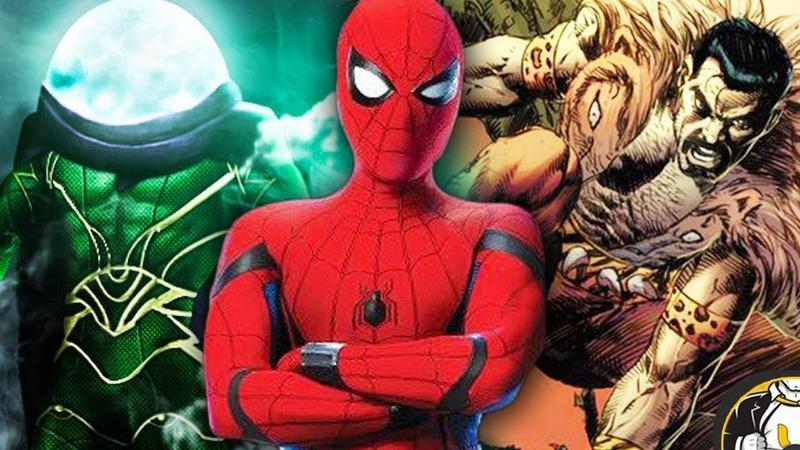 Những bộ phim Sony sắp trình làng trong vũ trụ mới của Spider Man