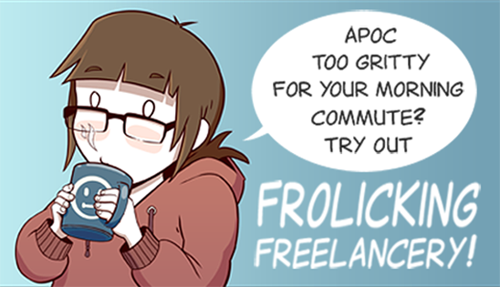 Frolicking Freelancery