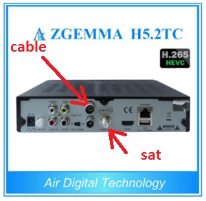 Zgemma Star H5 FTA Two Tuner, SAT + Cable / T (H 265
