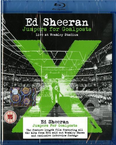 Ed Sheeran - Jumpers For Goalposts: Live At Wembley Stadium (2015) [Blu-ray 1080i]