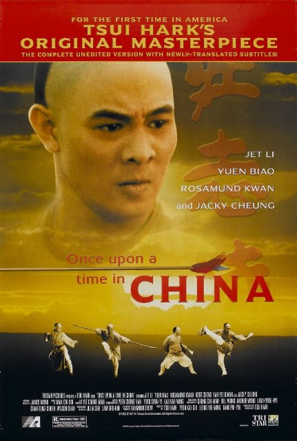 Once Upon a Time in China (1991) BluRay 720p 900MB