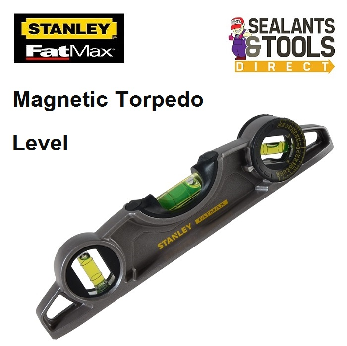 Stanley Fatmax 0-43-609 magnetic Torpedo level STA043609