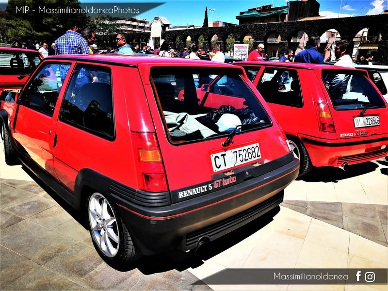 6° Festa dei Motori - Piazza Vicerè, Catania Renault_Supercinque_GT_Turbo_1_4_116cv_86_CT752682_26_000_13_3_2017_e_Supercinque_GT_Turbo_1_4_120cv_88_BL228546
