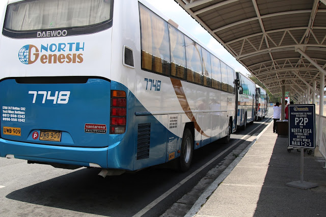 GENESIS BUS: P2P from Trinoma To Clark International Airport