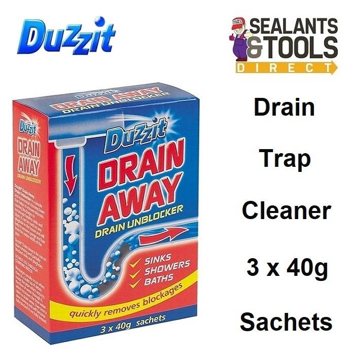 Duzzit Drain Away Unblocker Sink Shower Bath DZT1030C