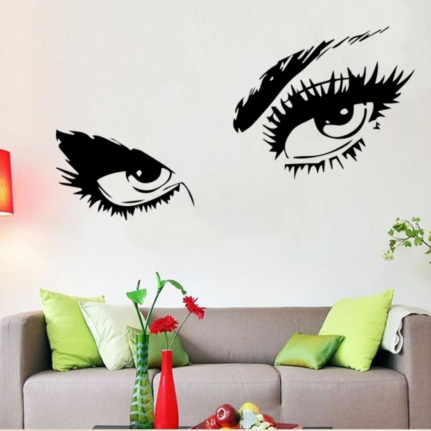 Audrey Hepburn Sexy Eyes Attractive Eye Wall Decal