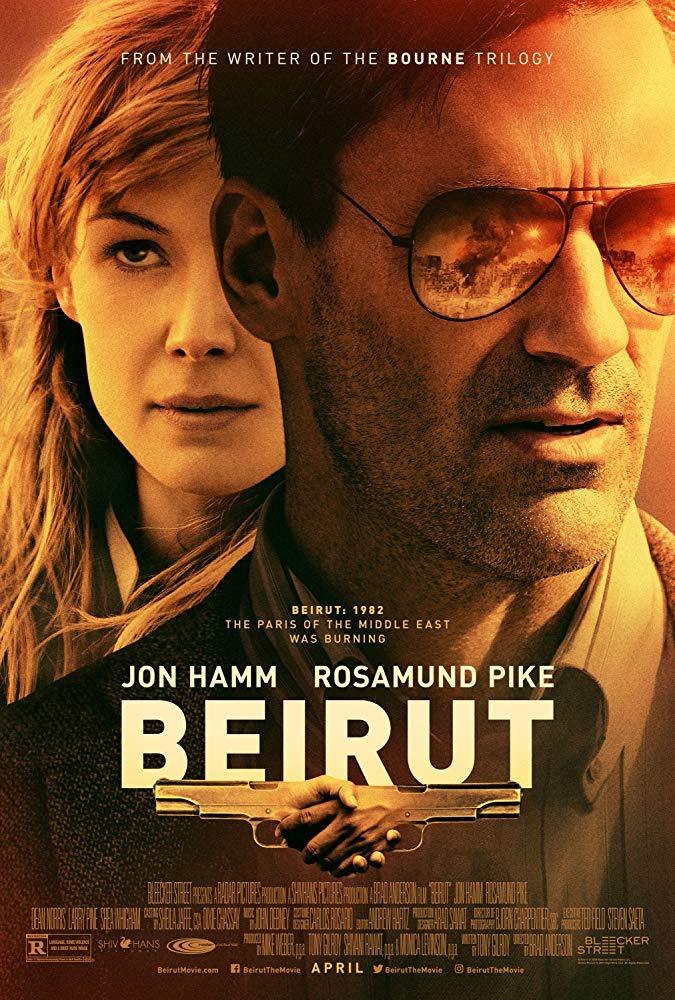 Beirut (2018) BluRay 720p 850MB