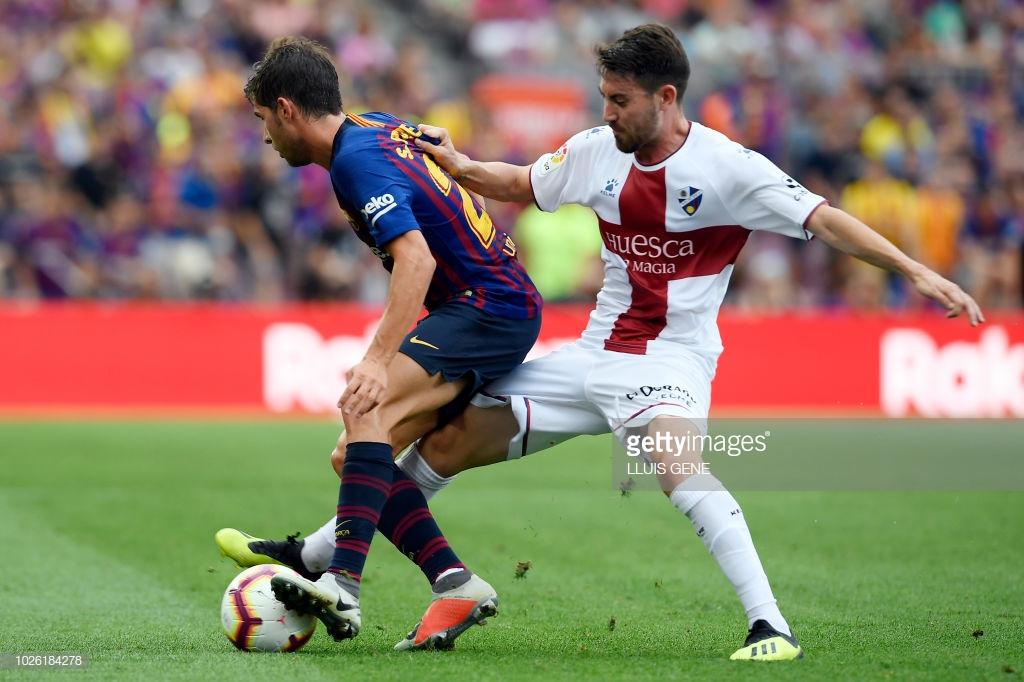 صور مباراة : برشلونة - هويسكا 8-2 ( 02-09-2018 )  R8