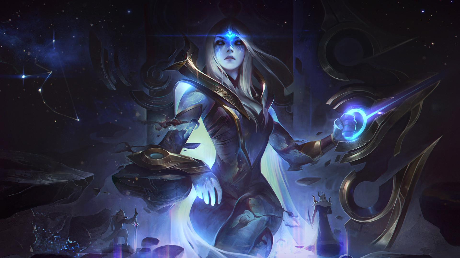 Ashe reina cósmica
