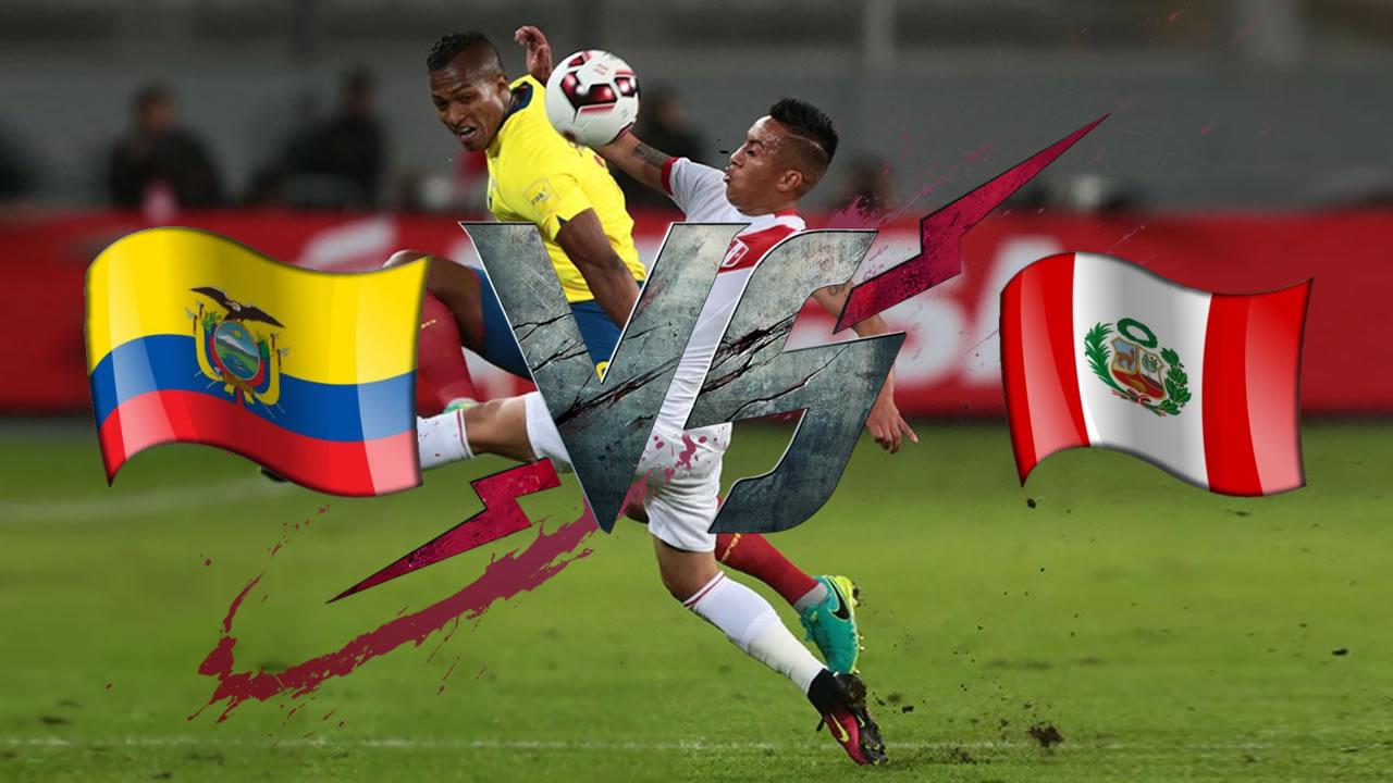 Perú VS Ecuador: equipo de Gareca es amplio favorito para llevarse el triunfo