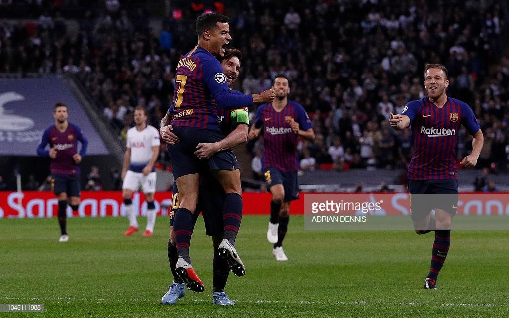صور مباراة : توتنهام - برشلونة 2-4 ( 03-10-2018 )  O