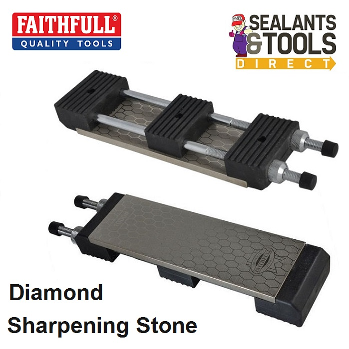 Faithfull Diamond Sharpening Stone Wood chisel Station FAIDWKITAV