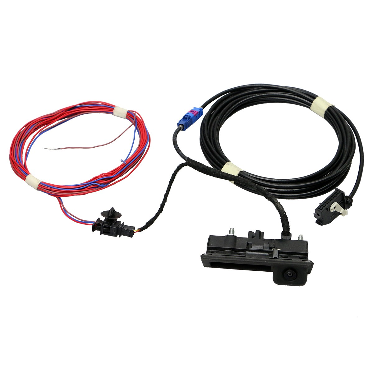 Oem Rgb Rear View Camera And Wire Harness Set For Vw Rcd510 Rns315 Wiring Backup Rns510