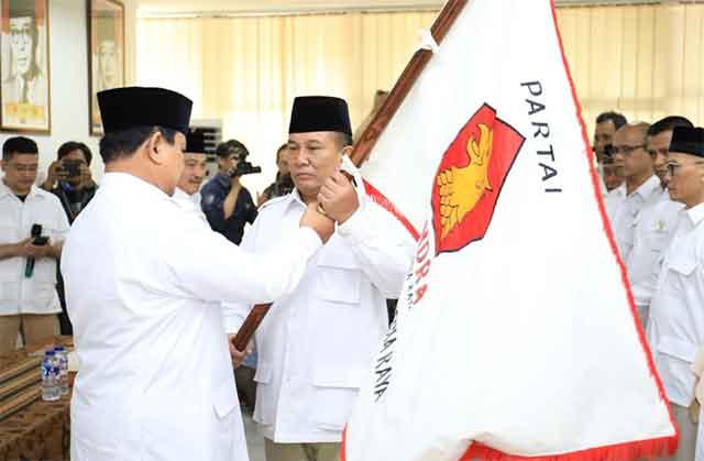 Hasil gambar untuk brigjen tni (purn) taufik hidayat ketua dpd gerindra jabar