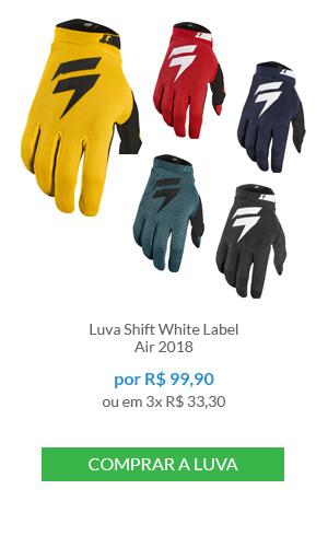 Luva Shift White Label Air 2018