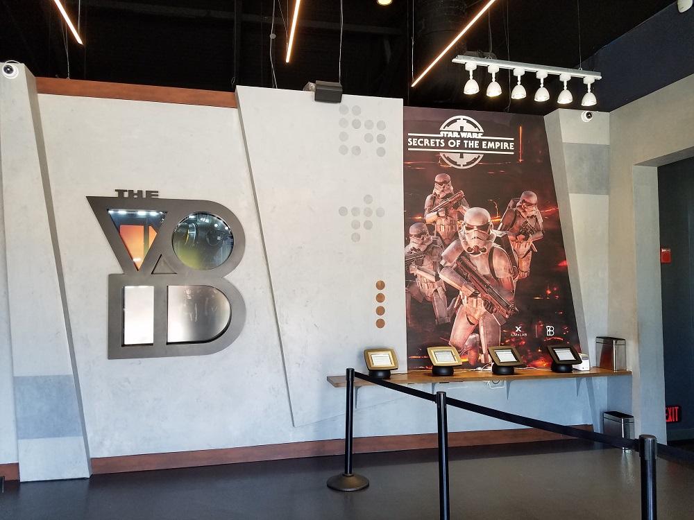 The Void Star Wars at Disney Springs