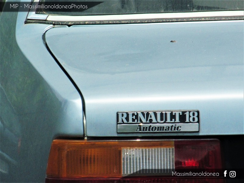 Auto Abbandonate - Pagina 4 Renault_18_Automatic_1_6_79cv_82_ME328877_2